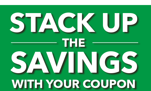 Stack Up The Savings