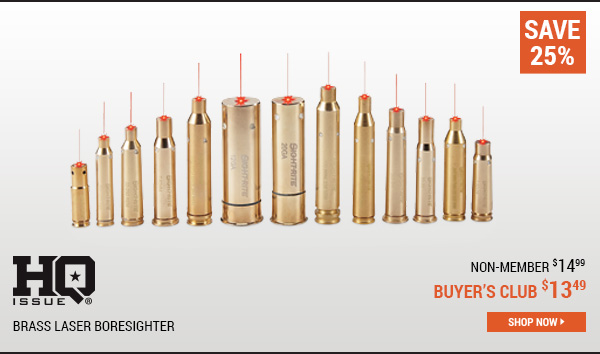 HQ ISSUE Brass Laser Boresighter