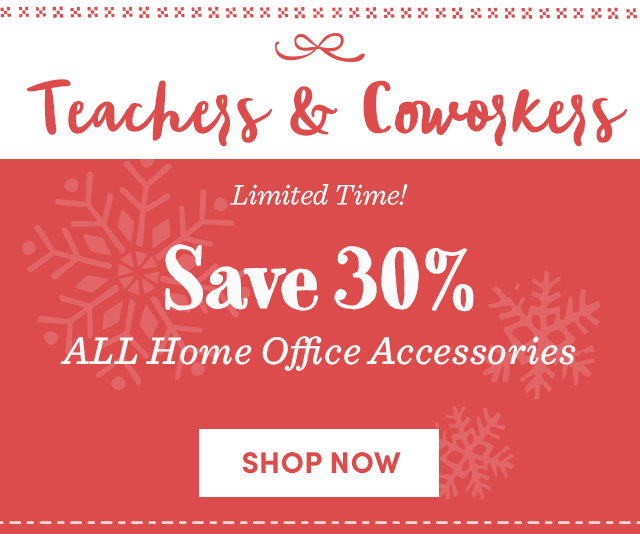 Save 30% All Home Office Accessories