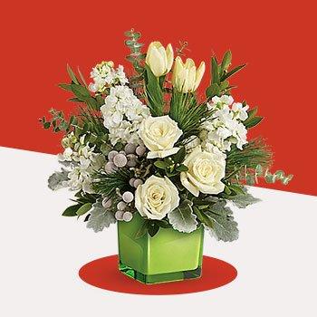 Telefloras Winter Pop Bouquet