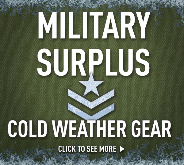 Military Surplus Cold Weather Gear