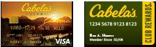 Cabela's CLUB Visa   Cabela's CLUB REWARDS