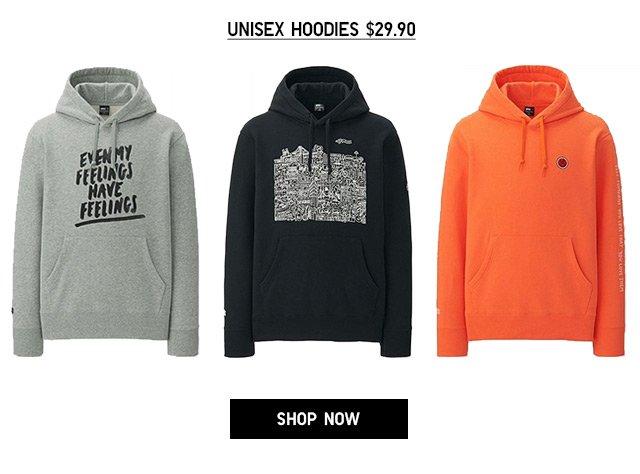 Online + Select Stores - TIMOTHY GOODMAN - Unisex Hoodies $29.90