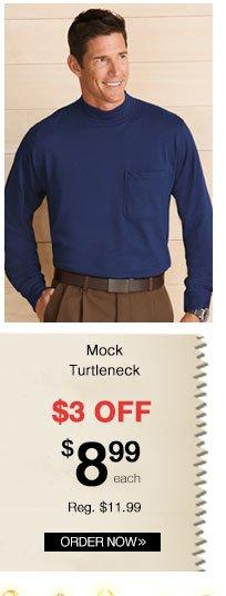 Mock Turtleneck