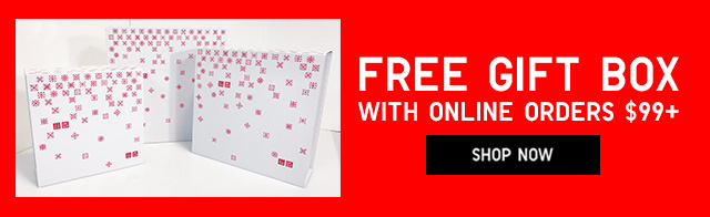 Free GIFT BOX with online orders of 99+