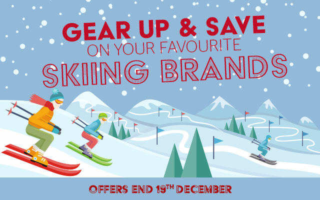 Gear Up & Save on your favourite Skiing Brands