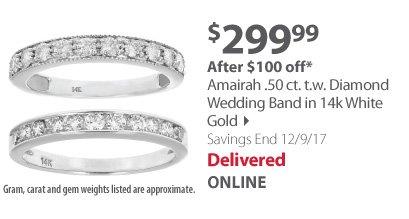 Amairah wedding band
