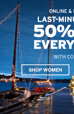 50% OFF EVERYTHING | GIFTS FOR HER