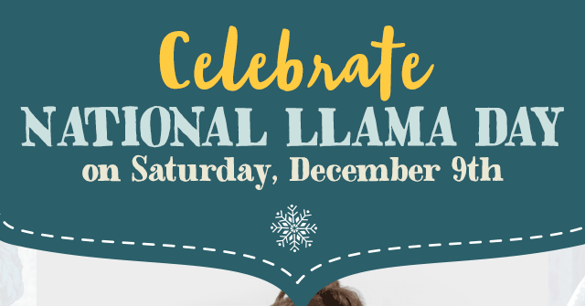 Celebrate National Llama Day!