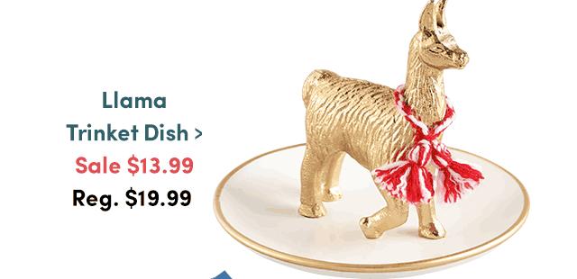 Llama Trinket Dish