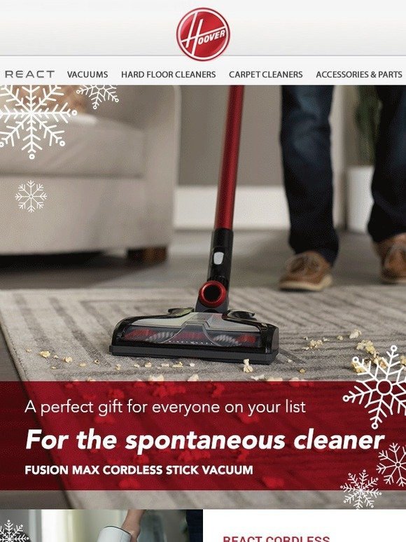 Hoover: Get a perfect gift for everyone on your list! | Milled