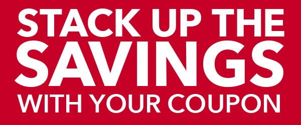 Stack up the savings. Final Day. In-store and online. 20% off your total purchase. Excludes Doorbusters.