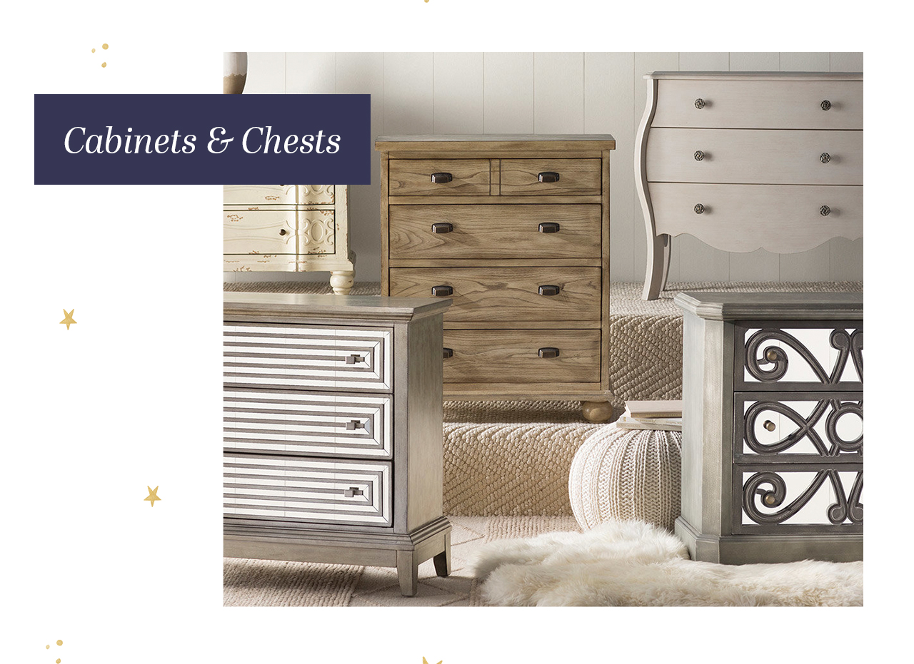 cabinets and chests
