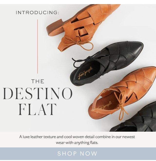 Destino Woven Flat