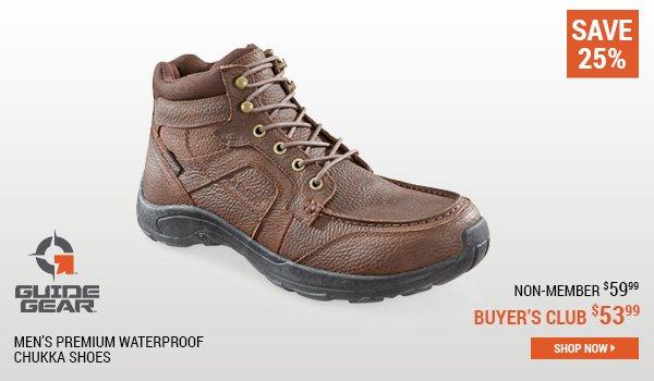 Guide Gear Men's Premium Waterproof Chukka Shoes