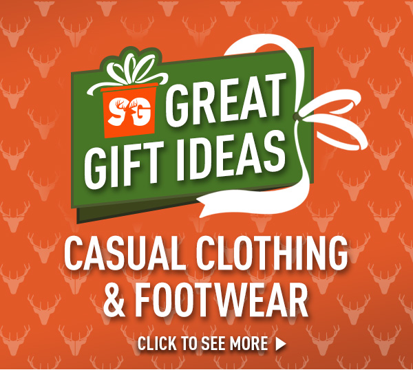 Great Gift Ideas - Casual Clothing & Footwear!