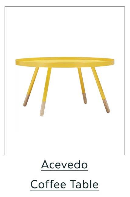 Acevdedo Coffee Table