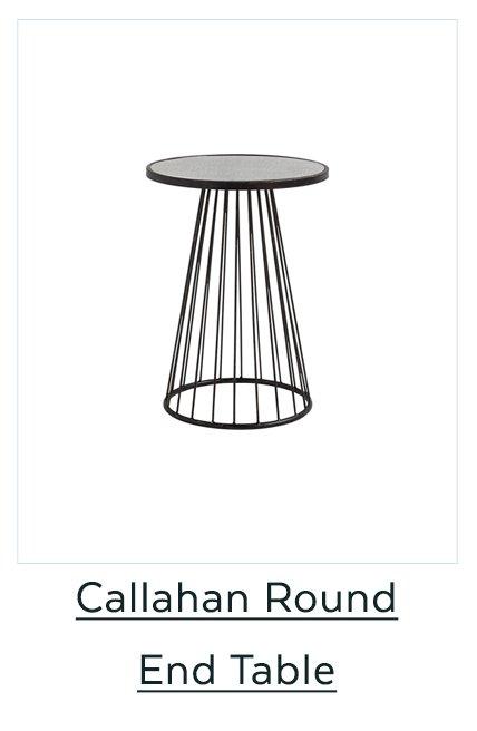 Callahan Round End Table