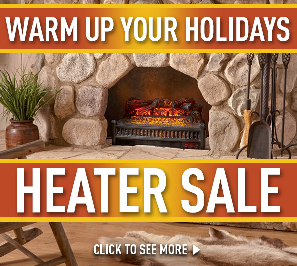 Warm Up Your Holidays. Heater Sale!