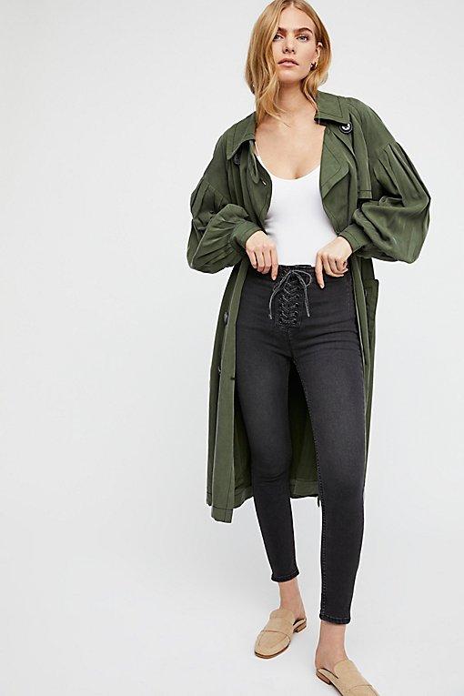 High Lace Legging