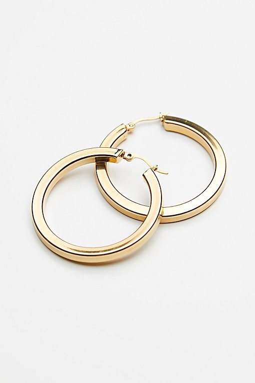 Squared Off Bella Hoops