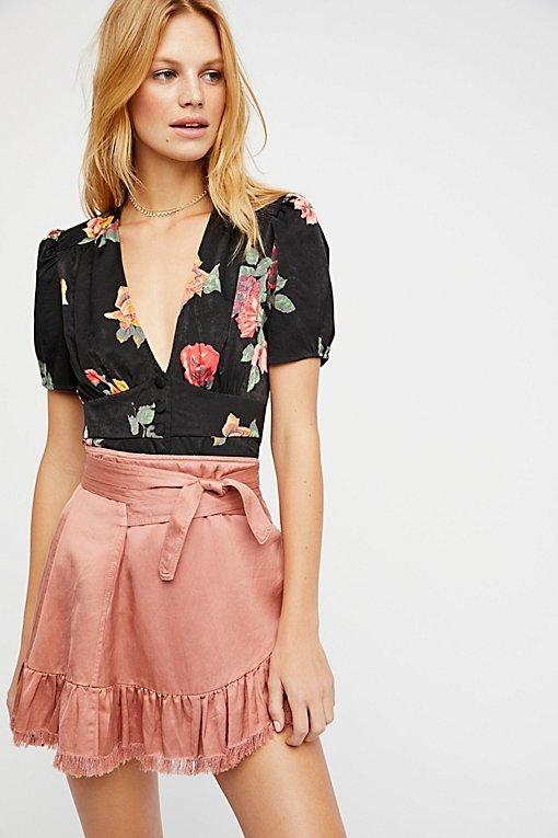 FP One Tuxedo Mini Skirt
