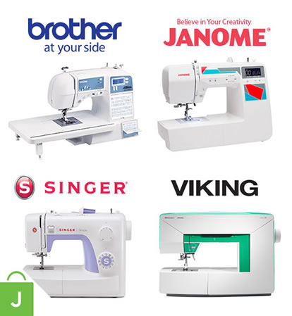 Entire stock sewing machines.