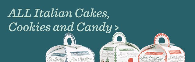 All Italian Cakes, Cookies & Candy