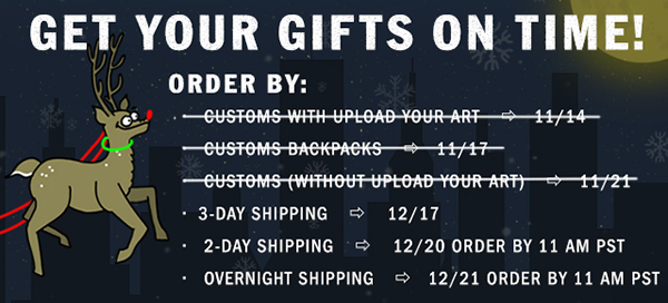 Get Your Gifts on Time