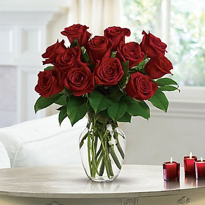 Enduring Passion - 12 Red Roses