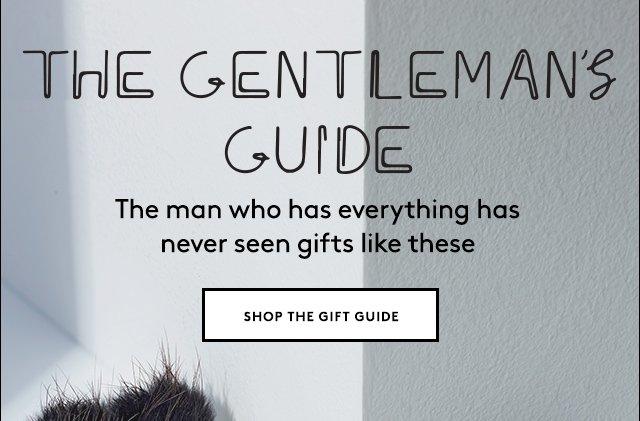 Inspired gift ideas for men of style