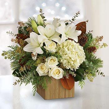 Telefloras Snowy Woods Bouquet