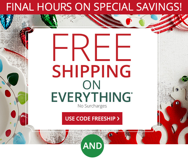 Sitewide Free Shipping.