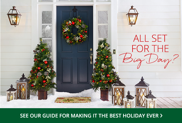 All set for the Big Day? See our guide for making it the best holiday ever.