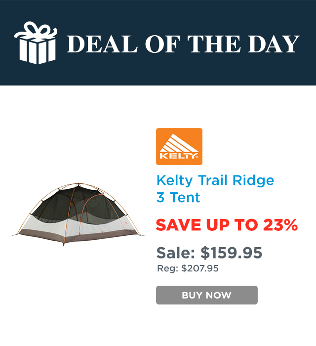 Enjoy our deal of the day.  sc 1 st  Milled & Sunny Sports: Deal Of The Day - Save 23% On This Kelty Trail Ridge ...