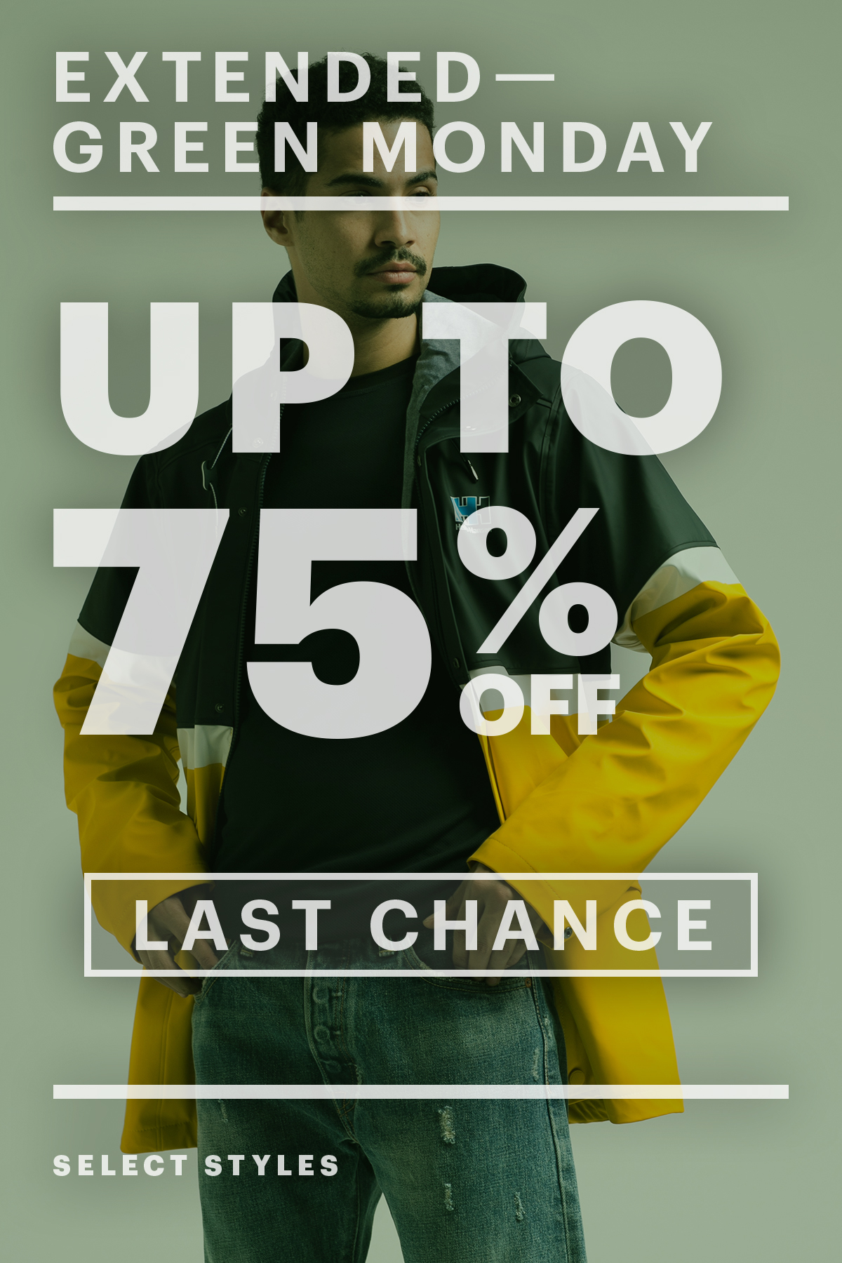 Last Chance! Up To 75% Off! Green Monday Sale