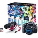 EOS Rebel T6i DSLR Video Creator Kit