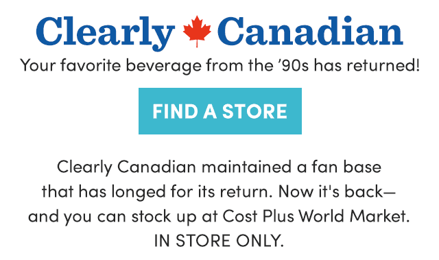 Clearly Canadian - Reg. $2.29 Ea.