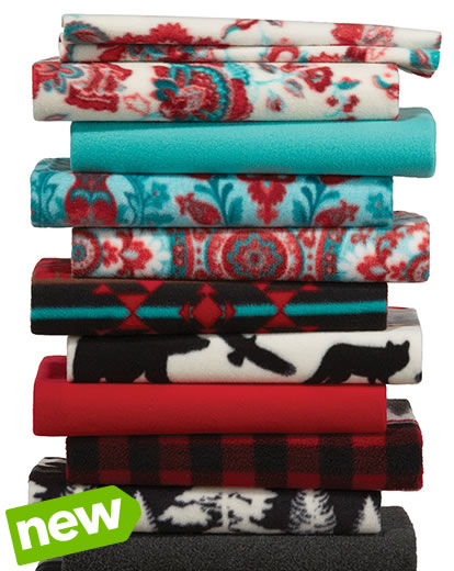 Entire Stock Anti-Pill and Blizzard Fleece Solids and Prints.