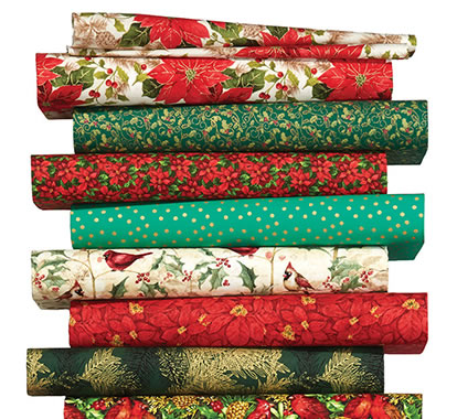 Entire Stock Christmas Fabrics.