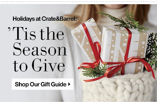 Shop Crate and Barrels Gift Guide