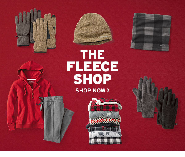ALL FLEECE 60% OFF REGULAR PRICE | SHOP FLEECE