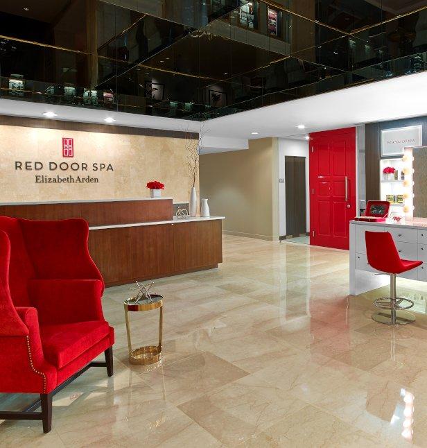 the red door at the garden city hotel - Red Door Spa Garden City