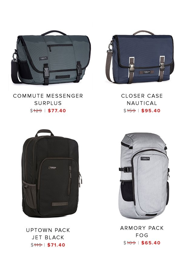 Commute Messenger | Closer Case | Uptown Pack | Armory Pack | Shop Sale
