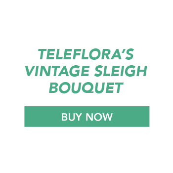 Buy Now Teleflora's Vintage Sleigh Bouquet