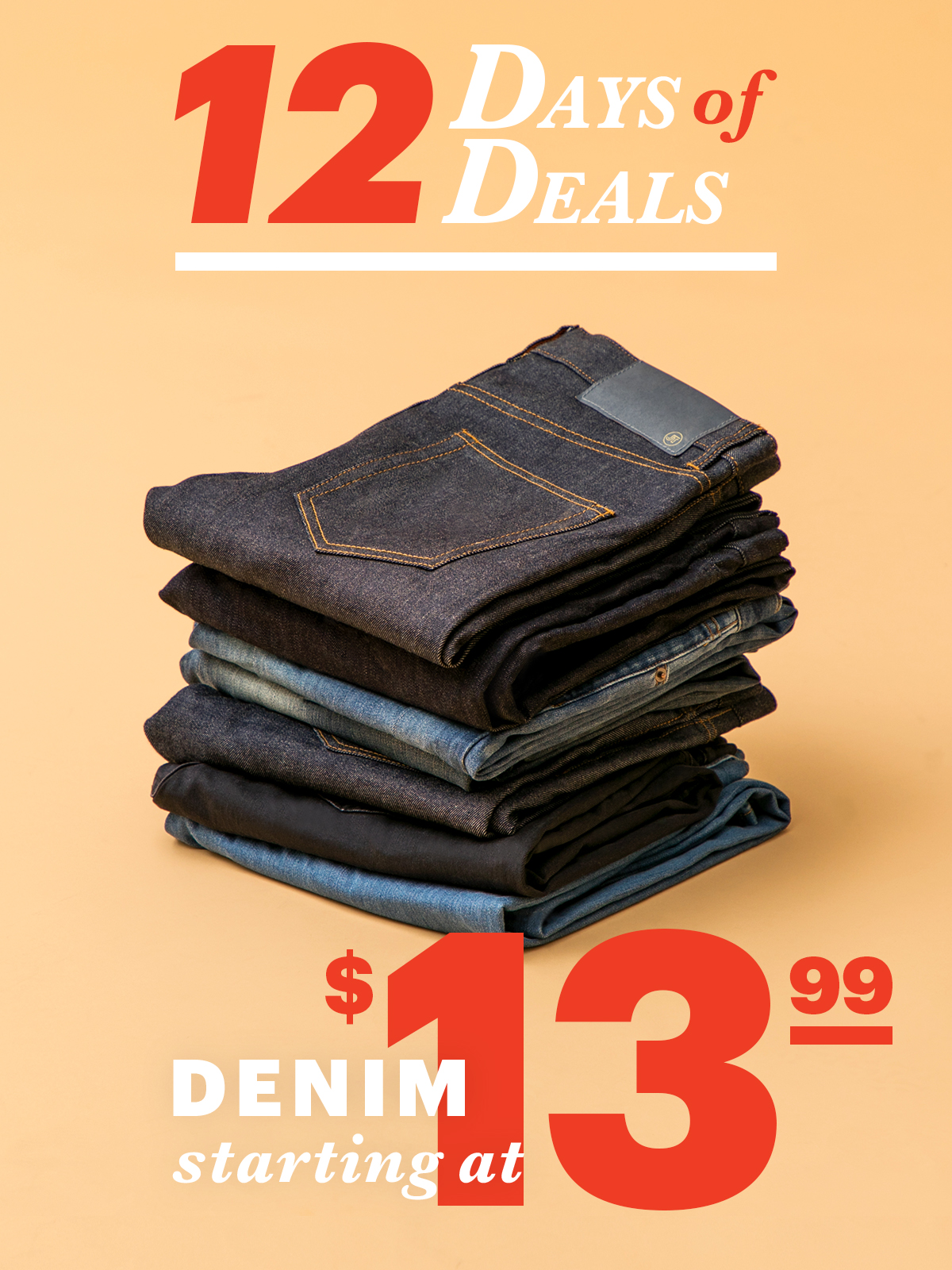 12 Days Of Deals: Day 1 Denim From $13.99