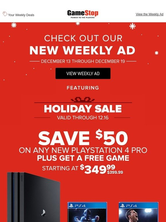 GameStop: Your Weekly Ad Is Here: 12 13 - 12 19 | Milled