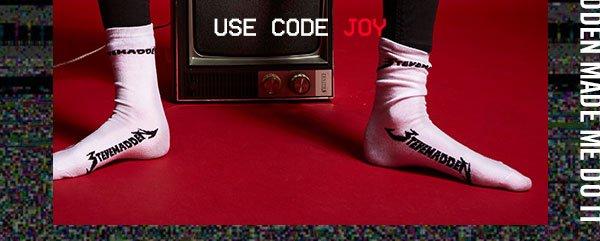 Use code JOY at checkout!