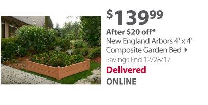 New england Composite Garden Bed