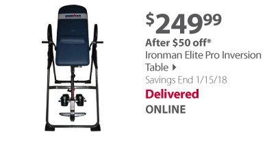 Ironman Elite Pro Inversion